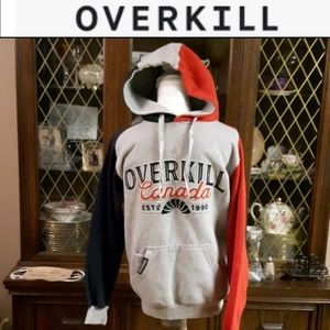 size S Overkill Canada hoodie sweater
